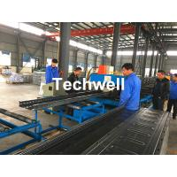 China CT-600 Ladder Type Perforated Cable Tray Roll Forming Machine, Cable Tray Production Line on sale