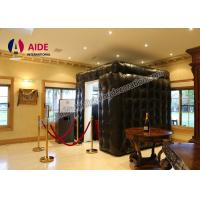 Quality Trade Show Equipment Inflatable LED Photo Booth Rental For Advertising wholesale