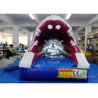 China PVC Tarpaulin Shark Commercial Or Personal Large Inflatable Slide ROSH on sale