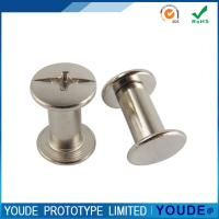 China Fast Low Volume Prototyping Aluminum Parts Nickelplate Y2019051114 on sale