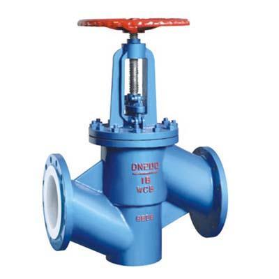 Fluorine stop valve J41F46-10C
