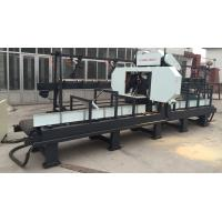 Quality wood horizontal band saw machine with good quality for cutting wood portable sawmill wholesale