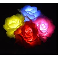 China Outdoor Solar Rose LED Lights,Garden Light up Stake Lights for Garden Patio Backyard Pathway Driveway Decoration on sale