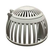 Quality Sand Casting and Die-Casting Aluminum Heavy Duty Roof Drain Dome Strainer and Clamping Ring For Roof Drainage wholesale
