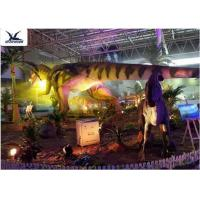 Indoor Shopping Mall Realistic Dinosaur Statues Decoration Full Size Animal Models