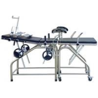 Quality Adjustable Stainless Steel Auxiliary Obstetric Operating Room Table 800mm Height wholesale