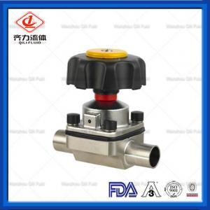 Quality Stainless Steel Hygienic Diaphragm Valve Multi Port DN25  Manual Diaphragm Valve wholesale