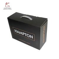 China handled Luxurious Offset Printing Corrugated Cardboard Box For Wine on sale