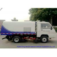 Quality Foton Mini Road Sweeper Truck , Mechanical Street Sweeper With 4 Brushes 2 Cbm Trash wholesale