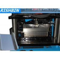 Quality Clip Lock Profile Roof Panel Roll Forming Machine with 1.0 mm Zinc and Prepainted Steel wholesale