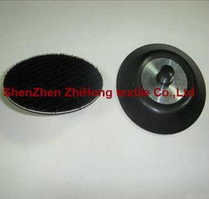 China 3M brand sticky grinding Velcro hook loop buffer pads on sale