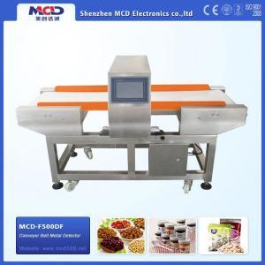 Quality MCD - F500QF FoodProcessingMetalDetectorfor Bread / Ice cream / Sugar wholesale