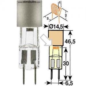 Quality Guerra 6702/2 operating room lighting lamp 24v55w G6.35 wholesale
