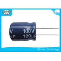 China Ripple Current High Voltage Power Capacitor 10uF 100V Capacitor SGS Approved on sale