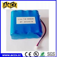 Quality 2S4P 18650 7.4v 8800mah li-ion battery pack for communications equipment wholesale