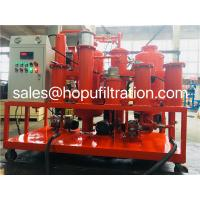 Quality Hydraulic Oil Vacuum Cleaning Machine, Used Hydraulic Oil Purification Plant, Oil Purifier,Lube Oil Filtering Unit wholesale