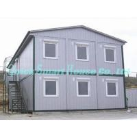 Quality Sandwich Panel Mobile Modular Homes , Two Storey Modular Guest House wholesale