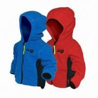 Quality Children's 3-layer Soft Shell Jacket, Waterproof Zipper and Breathable Fabric wholesale