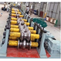 Quality ISO9001 350H Beam Highway Barrier Roll Forming Machine wholesale