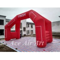 Cheap custom 20' 4 legs inflatable door arch model with removable logo & blower for for sale