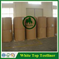 Quality 125g 170g 250g White Top kraft liner board / white top testliner paper / packaging paper in sheet wholesale