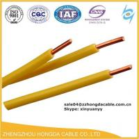 Quality PVC/HR PVC / FRLS / ZHFR Insulated Pvc building 16mm electrical wire grounding earth cable with copper conductor wholesale