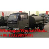Quality HOT SALE! high quality and competitive price YUEJIN Brand 5000Liters water tanker truck, 5cbm water sprinkling vehicle wholesale