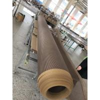 Quality TEFLON COATED OPEN MESH CONVEYOR BELT for Separating sheet for hardboard production  4*4mm wholesale