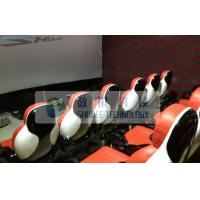 Quality Realistic 6D Cinema System With Seperate Platform And Cinema Special Effects wholesale