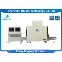 Quality L - Shaped Array X Ray Baggage Scanner , Dual Energy X Ray Inspection Machine wholesale