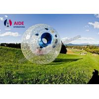 Quality 2M Dia Amusement Park Big Inflatable Ball , Rolled Grass Inflatable Bumper Ball For Kids wholesale