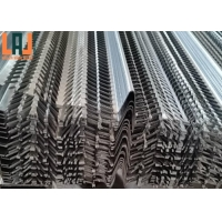0.35mm SS304 Expanded Metal Lath Thick Metal Rib Lath Building Materials for sale