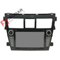 Quality 7 Inch Toyota Yaris Sat Nav Unit , Toyota Car Dvd Player Gps Built-In Radio Tuner wholesale