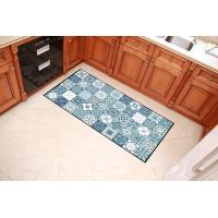 Quality Colorful Checkered Welcome Home Mat , Polyester Filling Outdoor Entrance Mats wholesale