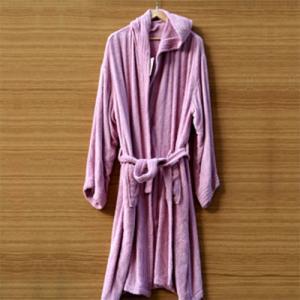 China cotton terry bathrobe on sale