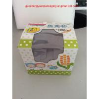 Quality Paper cardboard Box with Clear Window for Packaging cups wholesale