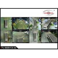 Quality 3D 360 Degree Surrounding Bird View Security System For Bus / Truck 4 Way Camera Recording wholesale