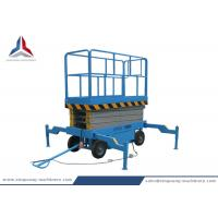 Quality 8m Platform Height Mobile Hydraulic Scissor Lift Table from China Factory wholesale