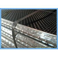 Quality Heavy Duty Crimped Vibrating Screen Wire Mesh , Sand Screen Mesh 0.8 - 8 Mm Aperture wholesale