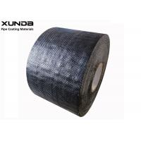 Cheap 1.1mm Thickness Corrosion Resistant Tape Polypropylene Fiber Woven Tape For Pipe Protection for sale
