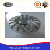 """Quality 4"""" Diamond Grinding Wheels With Curve Edged Segment For Concrete And Stone wholesale"""