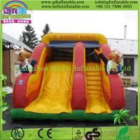 Quality High Quality Small Indoor/Outdoor Inflatable Slide, Cartoon Slide, Commercial Grade wholesale