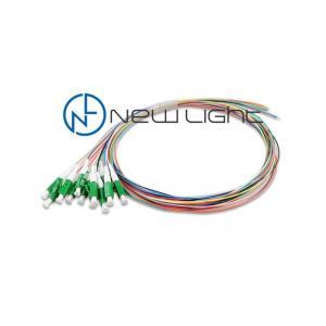 China Loose / Tight Buffered LC APC 1.5m 0.9mm Fiber Optik Pigtail on sale