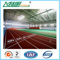 China Environmental - Friendly Jogging Track Material , Spray Coating Surface Athletics Track on sale