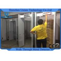 Quality Customzied ABS material walk through metal detector door frame UB500 6 zones wholesale