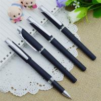 Quality Gel pen,Promotional gel-ink pen with cap,black rubber gel-ink pen wholesale