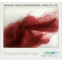 Buy cheap Pilling Resistant Color Polyester Fiber , Renewable Micro Denier Polyester Fiber from wholesalers