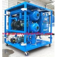 China ACORE Offering 6000L/H Vacuum Transformer Oil Filtration Plant on sale