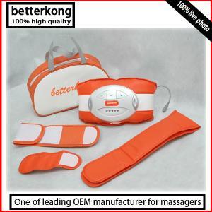 China best Halloween gifts electric slim massage belt belly slim belt vibrating slimming belt with 3pcs extended belt on sale