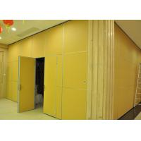 Quality Moving Vinyl Metal Partition Walls Fabric Training Room Folding Partition wholesale